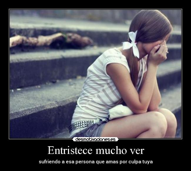 Mujer triste