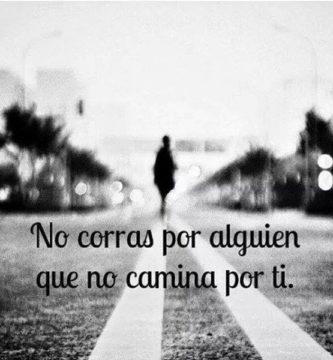 Caminando hacia adelante