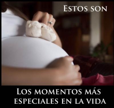 zapatos sobre el embarazo