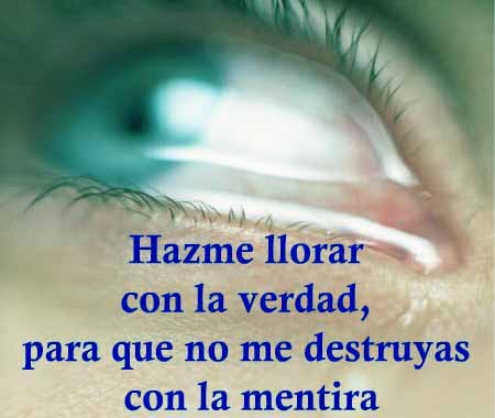 lágrima en los ojos
