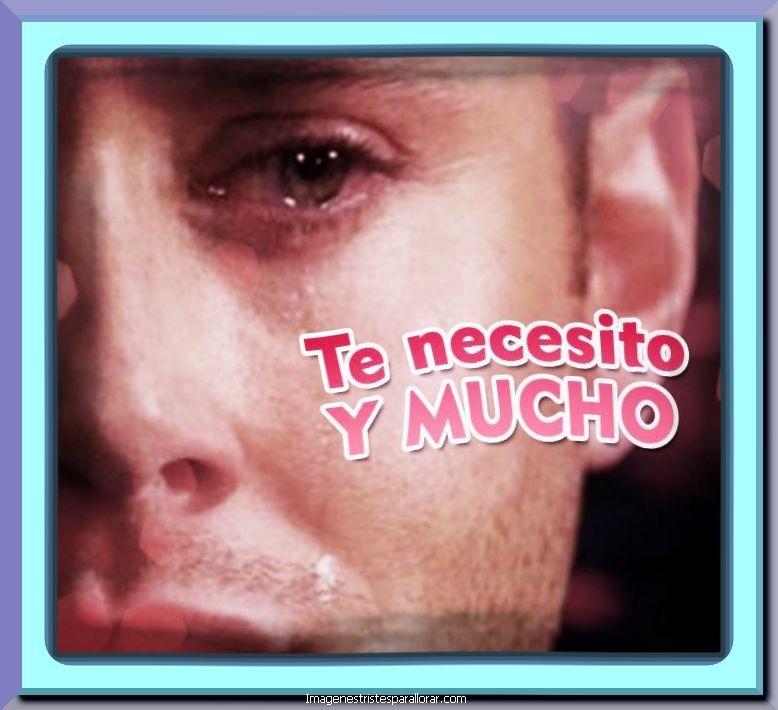 Hombre llorando