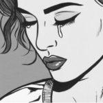 Chica llorando por amor