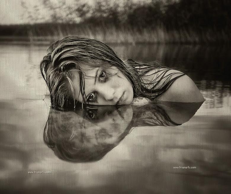 Llorando en el agua