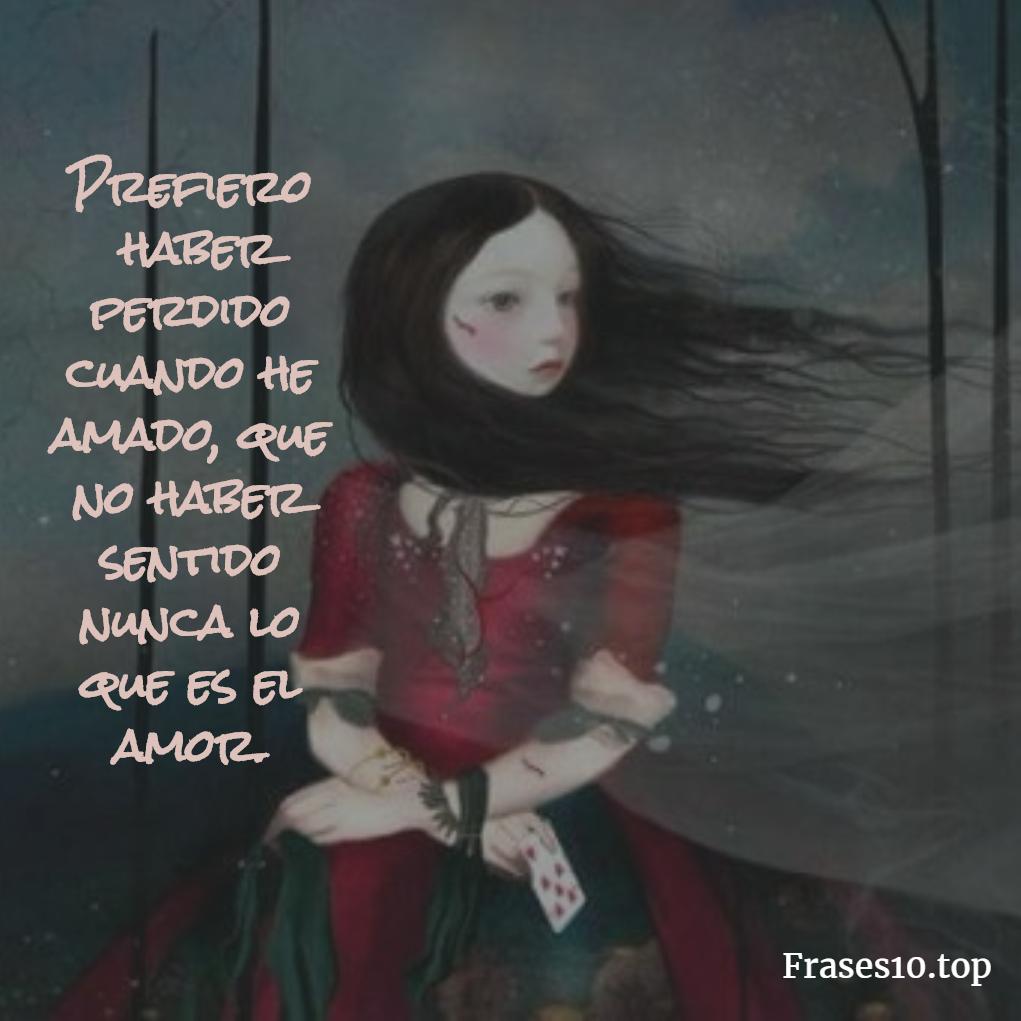 Tristeza en una mujer