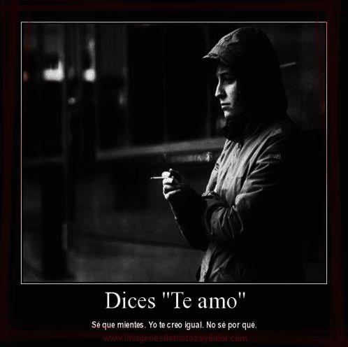 Dices te amo...