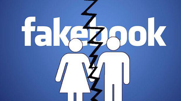 Amor roto en Facebook
